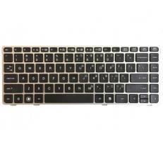 HP Tastatura laptop HP 6037B0053801, Layout US, cu rama, standard