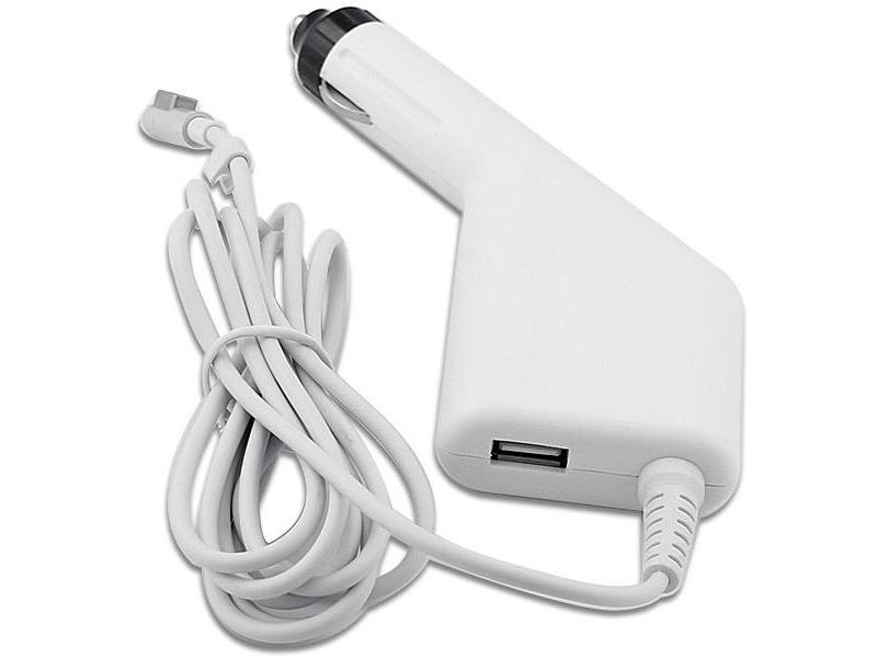 Mentor Incarcator auto laptop Apple A1124, A1237, A1244, A1269, A1270 45W MagSafe 1 cu port USB 5V 2A