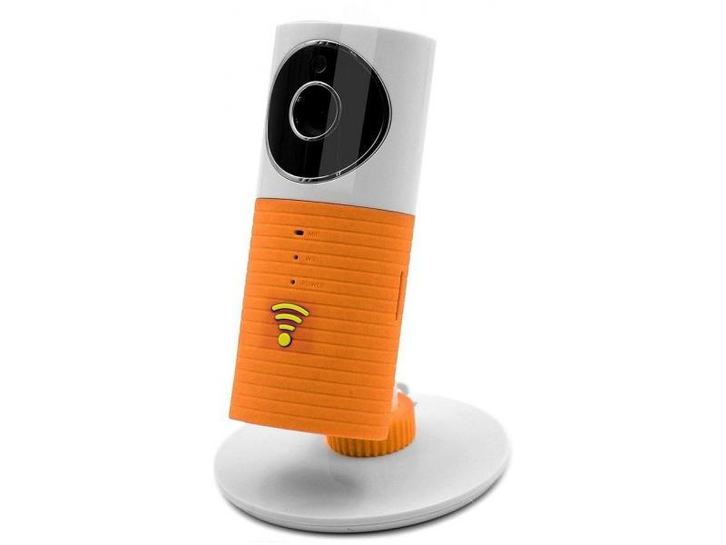 CleverDog Camera de Supraveghere CleverDog Wirless IP, HD, NightVision, Senzor Automat, Microfon Portocaliu