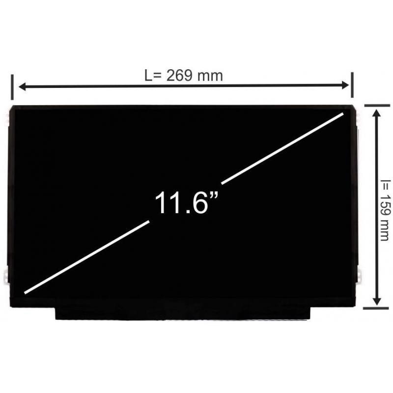 IVO Display laptop IVO M116NWR1 R3