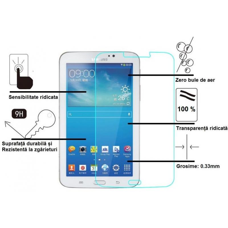 MMD Folie protectie Premium Tempered Glass Asahi Japonia pentru Samsung Galaxy Tab 3 7 T210, T211, T215, SM-T210, SM-T211, SM-T215, P3200, P3210