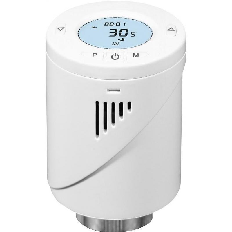 Zonure Kit Unitate Centrala si Cap Termostat wireless Zonure TY ZigBee