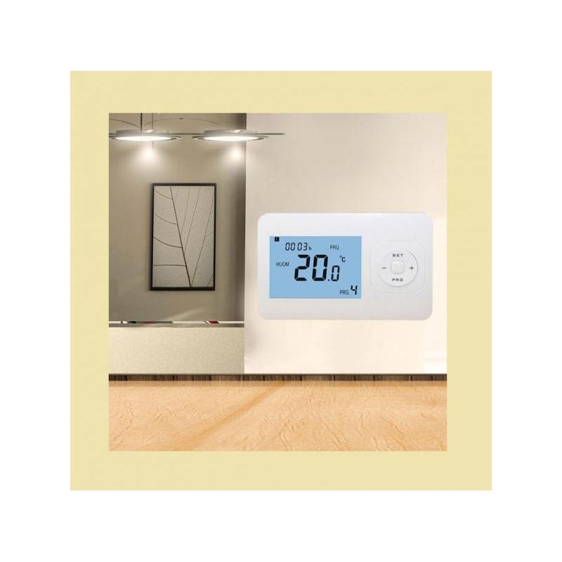 Zonure Termostat de ambient wireless programabil Zonure WIFi 868MHz