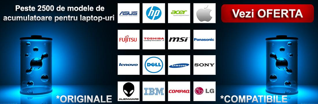 Acumulatoare laptop oferta